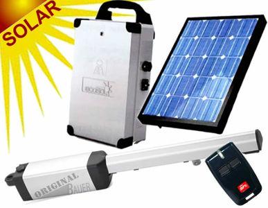 Garagentorantrieb mit solarenergie