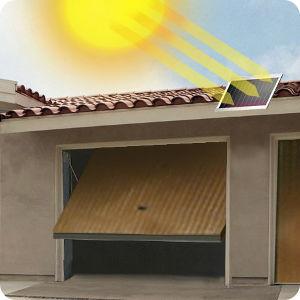 solar garagentorantrieb spart kosten und m he. Black Bedroom Furniture Sets. Home Design Ideas
